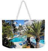 Poolside 01 Weekender Tote Bag