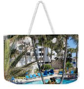 Miami Beach Poolside 03 Weekender Tote Bag