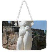 Poolside Statue Weekender Tote Bag