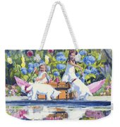 Poolside Tea I Weekender Tote Bag