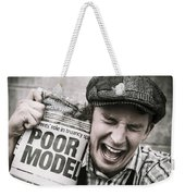 Poor Model Weekender Tote Bag