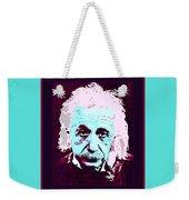 Pop Art Einstein No 3 Weekender Tote Bag
