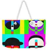 Pop Art People 4 2 Weekender Tote Bag