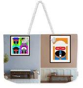 Pop Art People On The Wall Weekender Tote Bag