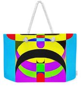 Pop Art People Totem 7 Weekender Tote Bag