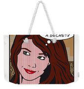 Pop Art Porn Stars - Mia Sollis Weekender Tote Bag