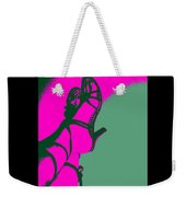 Pop Art Shoes In Pink Weekender Tote Bag