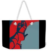 Pop Art Shoes In Red Weekender Tote Bag