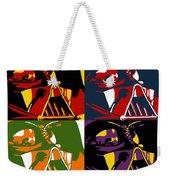 Pop Art Vader Weekender Tote Bag
