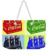Pop Coke Weekender Tote Bag