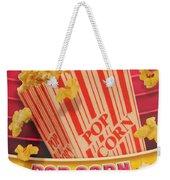 Pop Corn Weekender Tote Bag
