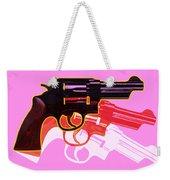 Pop Handgun Weekender Tote Bag