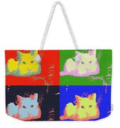 Pop Kitty Weekender Tote Bag