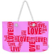 Pop Love 4 Weekender Tote Bag