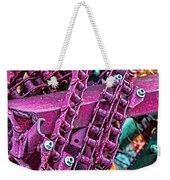 Pop Of Purple Weekender Tote Bag