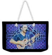 The Dave Matthews Band Op Art Style Weekender Tote Bag