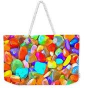 Pop Rocks Abstract Weekender Tote Bag