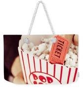 Popcorn Box Office Weekender Tote Bag