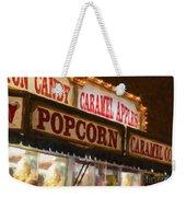 Popcorn Weekender Tote Bag