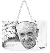 Pope Francis - Jorge Mario Bergoglio Weekender Tote Bag