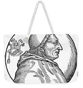 Pope Innocent Viii (1432-1492) Weekender Tote Bag