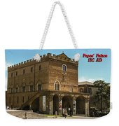 Popes Palace Weekender Tote Bag