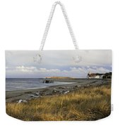 Popham Beach On The Maine Coast Weekender Tote Bag