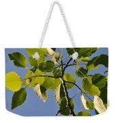 Poplar Leaves Weekender Tote Bag