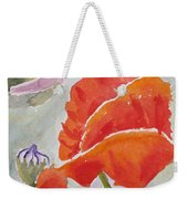 Poppies 1 Weekender Tote Bag