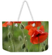 Poppies 2 Weekender Tote Bag