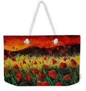 Poppies 68 Weekender Tote Bag