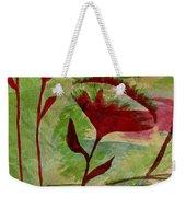 Poppies Abstract 2 Weekender Tote Bag