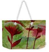 Poppies Abstract 3 Weekender Tote Bag