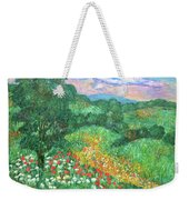 Poppies And Lace Weekender Tote Bag