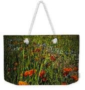 Poppies Art Weekender Tote Bag