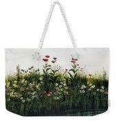 Poppies, Daisies And Thistles Weekender Tote Bag