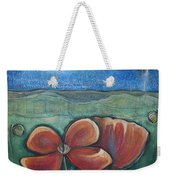 Poppies For Barbara And Paul Weekender Tote Bag