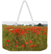 Poppies IIi Weekender Tote Bag