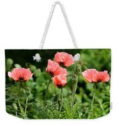 Poppies In My Garden Weekender Tote Bag