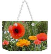 Poppies In The Wild Weekender Tote Bag