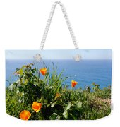 Poppies On The Pacific Weekender Tote Bag