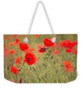 Poppies Viii Weekender Tote Bag