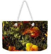 Poppies Will Make Them Sleep Weekender Tote Bag