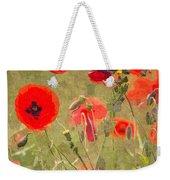 Poppies X Weekender Tote Bag
