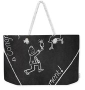 Popping The Question Weekender Tote Bag