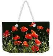 Poppy Art Weekender Tote Bag