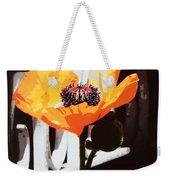 Poppy Art Poster Print Weekender Tote Bag