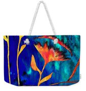 Poppy At Night Abstract 2 Weekender Tote Bag