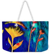 Poppy At Night Abstract 3  Weekender Tote Bag