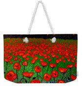 Poppy Carpet  Weekender Tote Bag